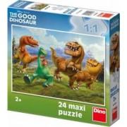 Puzzle de podea - Dinozauri 24 piese