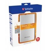 VERBATIM HDD 1TB STORE'n Go PORTABLE, Silver, USB 3.0 (53071)