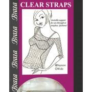 Braza Clear Bra Straps Wide - 1.5cm Width