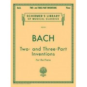 Johann Sebastian Bach: Two- And Three-Part Inventions by Carl Czerny