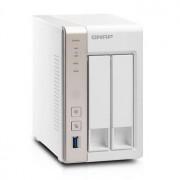 QNAP TS-251 Turbo NAS server, 2,4 GHz DC1GB2x HDD2xGLHDMIUSB 3.0Raid 0,1iSCSI