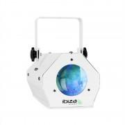 Ibiza LCM003, LED ефект Moonflower RGBWA, управление с музиката (LCM003-WH)