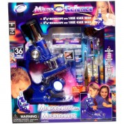 Nagy mikroszkóp szett