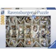 PUZZLE CAPELA SIXTINA 5000 PIESE Ravensburger