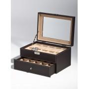 Rothenschild Ceas cutie RS-1683-20DBR pentru 20 Ceasuri maro
