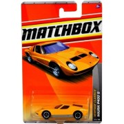 Matchbox MBX Heritage Classics Series 1:64 Scale Die Cast Car #14 - Yellow Color High Performance 2-Seater Mid-Engined Sports Coupe Lamborghini MIURA P400 S by LAMBORGHINI