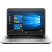 "Laptop HP ProBook 440 G4 (Procesor Intel® Core™ i7-7500U (4M Cache, up to 3.50 GHz), Kaby Lake, 14""FHD, 8GB, 256GB SSD, Intel® HD Graphics 620, Wireless AC, FPR, Win10 Pro 64, Argintiu)"