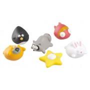 Babymoov A104919 - Juguetes para baño con diseño de animales graciosos (6 piezas)