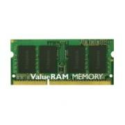 MEMORIA KINGSTON SODIMM DDR3 4GB PC3-10600 1333MHZ VALUERAM CL9 204PIN 1.5V P/LAPTOP