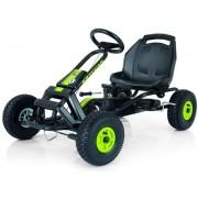 Cart cu pedale Kettler Barcelona Air (Negru/Verde)