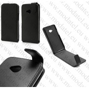 "HTC One M7 801e (кожен калъф) ""Smooth Style"""