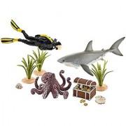 Schleich North America Treasure Hunt Diver Figure