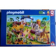 Playmobil Puzzle Animaux Du Zoo 60 Pièces Pocket Quick