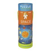 Puzzel en poster Space - Ruimte | Crocodile Creek