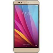 """Honor 5X Smartphone libre de 5.5"""" (Bluetooth 4.1, 1.5 GHz Octa-Core, Qualcomm, 2 GB de RAM, 16 GB de memoria interna, cámara de 13 MP/5 MP, LTE, Android 5.1), color dorado"""