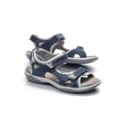 Klepper Klepper Klett-Sandale Dame Blau 36