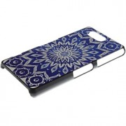 caso difícil flor padrão pc e titular do telefone para sony xperia z3 compacto z3 Mini /