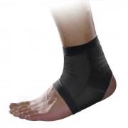 MLD LF1127 tobillo proteccion para pies corse protector - Negro Gris (L)