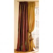 """Vorhang """"Taffetta"""", 1 Vorhang, 142 x 280 cm - Rot/Grün"""