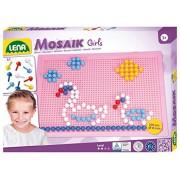 Lena 35611 - Mosaico set di colori ragazze 10 mm, di grandi dimensioni
