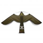 Hawk Kite reserve vlieger black of brown