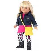 KidKraft Girl's Caucasian Fay Fashionista Doll, Multi Color (18-inch)