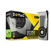 Zotac zt-p10700 a-10p Carte graphique GeForce GTX 10-Series 8 Go GDDR5 Carte graphique – Noir
