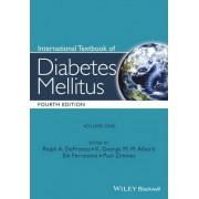 International Textbook of Diabetes Mellitus by Ralph A. Defronzo