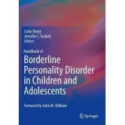 Handbook of Borderline Personality Disorder in Children and Adolescents 2014 by Carla Sharp