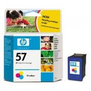 HP Cartus inkjet original, color hp 57 (c6657ae)