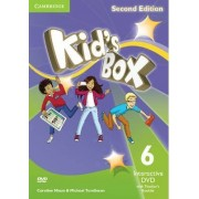 Kid's Box Level 6 Interactive DVD (NTSC) with Teacher's Booklet by Caroline Nixon