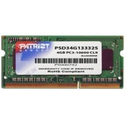 Patriot Memory geheugenmodules 4GB DDR3 SODIMM