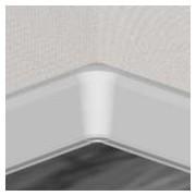 PBY605.01- S4 - Set 4 bucati piese colt interior culoare alb pentru plinta PBC605