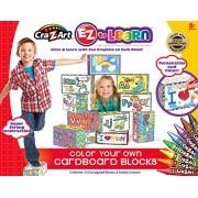 Cra-Z-Art EZ Learn Create Your Own Corrugated Blocks