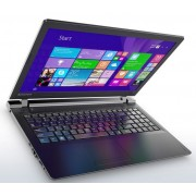 "Lenovo IdeaPad 100 Notebook Celeron Dual N3060 1.60Ghz 2GB 500GB 15.6"" WXGA HD IntelHD BT Win 10 Home"