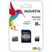ADATA Premier 8GB SDHC UHS-I U1 Memory Card (ASDH8GUICL10-R)