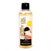 Body oil met vanille geur