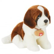 Toys R Us Plush 10 inch St. Bernard Dog - Brown and White