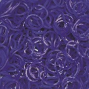 Elastice Rainbow Loom - Jelly - Albastru-navy