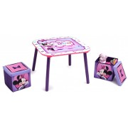 Set masuta si 2 tabureti Disney Minnie Mouse