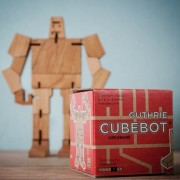 Cubebot Wooden Puzzle - Guthrie
