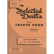 Selected Duets for French Horn, Volume II by H Voxman