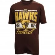 Hawthorn Hawks Youth Printed Tee Shirt