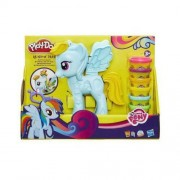 Hasbro Play Doh Salon Fryzjerski Rainbow Dash B0011