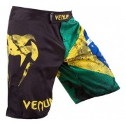 Venum MMA Bermuda Brazilian Flag Preta