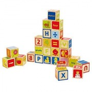 Hape - Early Explorer - ABC Wooden Stacking Blocks