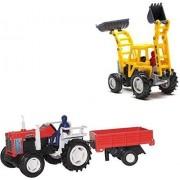 A M Enterprises Construction Vehicle - set of 2, Multicolor