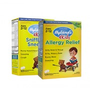 HYLAND SNIFFLES N SNEEZES 4 KIDS & ALLERGY RELIEF 4 KIDS VALUE PACK
