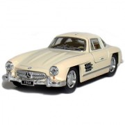5 1954 Mercedes-Benz 300 SL Coupe 1:36 Scale (Beige).