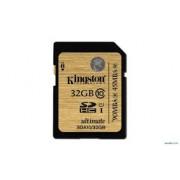 Kingston - SDA10/32GB - 32 GB - SDHC - Clasa memorie 10 - UHS-I Ultimate Flash Card - Nou